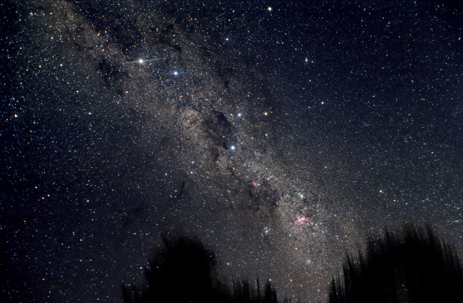 Southern Cross at Mangaia Cook Islands