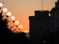 Vernal Equinox over the White Tower Thessaloniki