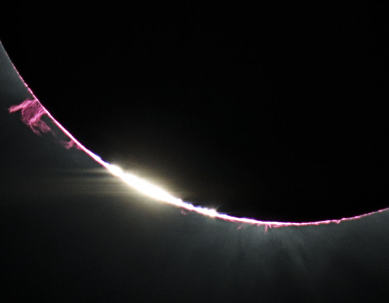Baily's Beads vs. Prominence!